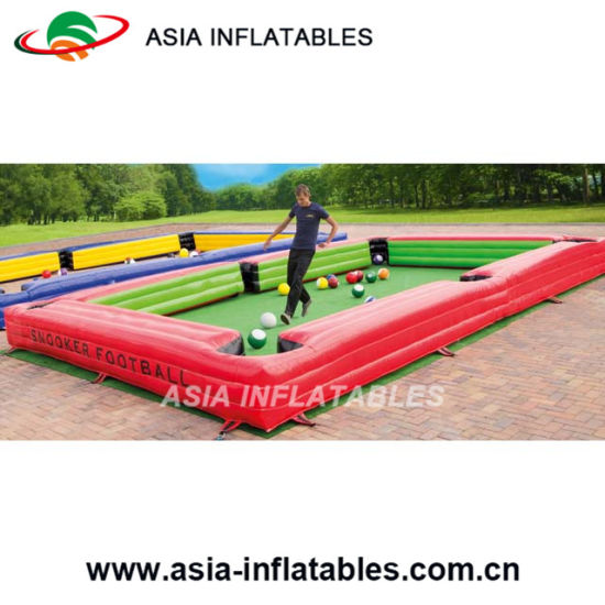 China Inflatable Billiards Table Sport Games China Inflatable - Human pool table
