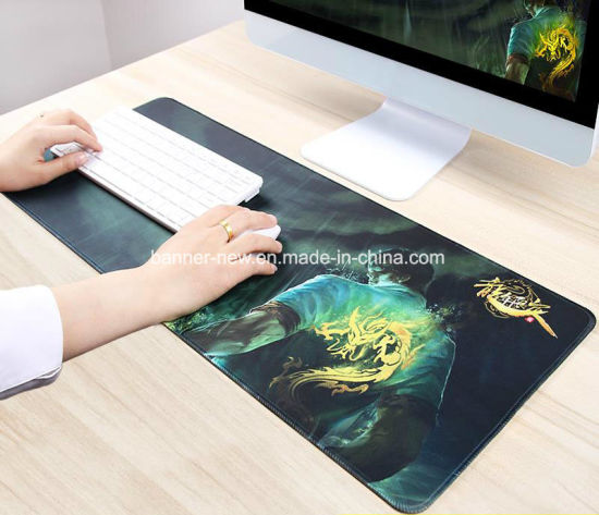 Washable Custom Full Color Printed Suede Mouse Mat pictures & photos