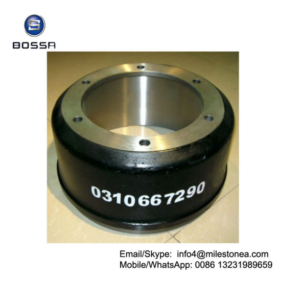 Professional Casting Truck Part Brake Drum 0310667290 for BPW pictures & photos