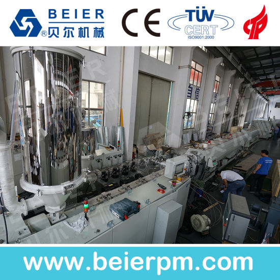 High Efficiency, Energy Saving PE/PVC/ PPR Pipe Extrusion Line pictures & photos