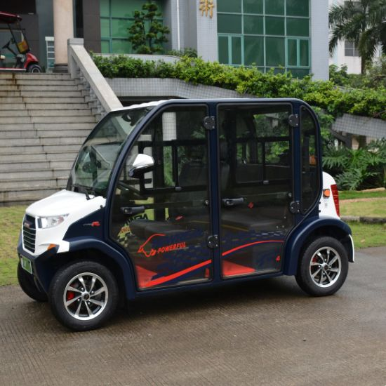 4 Seaters Electric Mini Car Door with Half Sticker pictures & photos