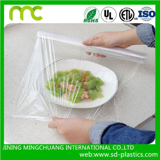 China Heat Resistant Cling Film for Food Bale Wrap Plastic - China