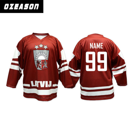 0c985eb02b8 Custom Sublimation Hockey Jersey for Ice Hockey Sports Jersey pictures    photos