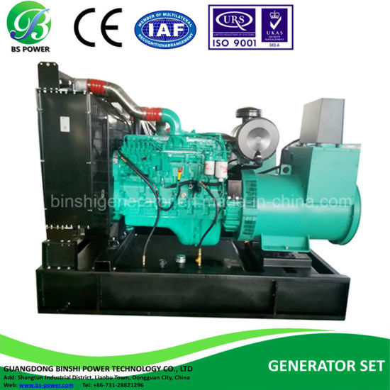 80kw/100kVA Diesel Generating Set Powered by Cummins Engine 4BTA3 9-G11 and  Leroy-Semor Alternator 60Hz & 208V (BCL100-60)