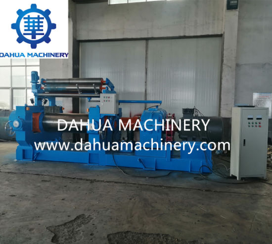 Rubber Compound Mixing Machine/Open Mixing Mill with Stock Blender