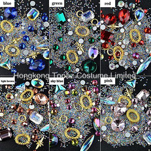 Golden Brown Hotfix Iron On Glass Rhinestones Flat Back Crystals Diamante Gems