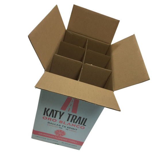 5L Carry Wine Packing Carton (FP6067) pictures & photos