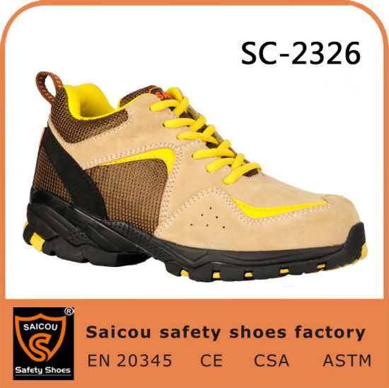 Saicou Athletic Works Shoes Lightweight Safety Boots and Safety Shoes Wholesale Sc-2326 pictures & photos