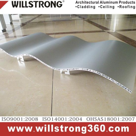 Super thin AHP Aluminum Honeycomb Panel in Fireproof Rated A2 pictures & photos