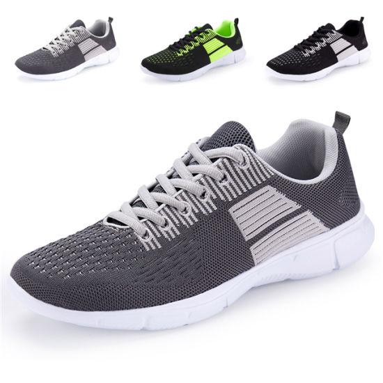 Flyknit Upper Sport Running Shoes for Men/Women