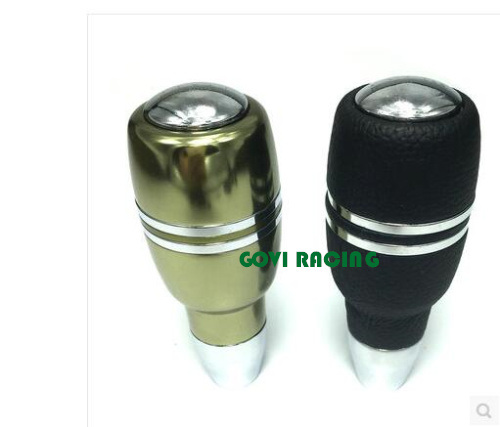Aluminum Car Gear Shift Knob with Button Automatic