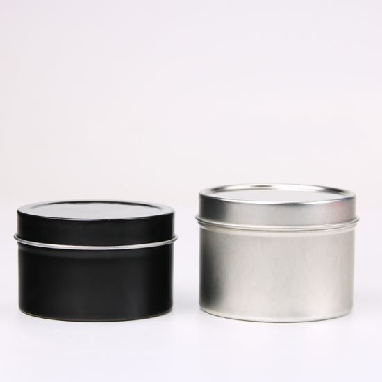 Round Candle Tin Cans Tin Box pictures & photos