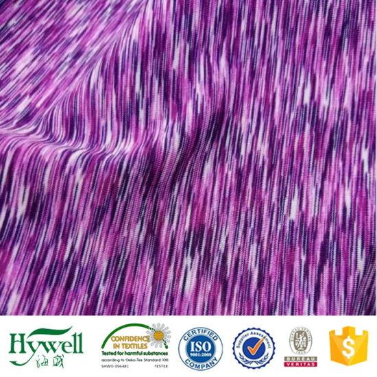 7a92bd72c64 China Textile Knitting Lycra Yarn Dyed 4 Way Stretch Fabric - China ...