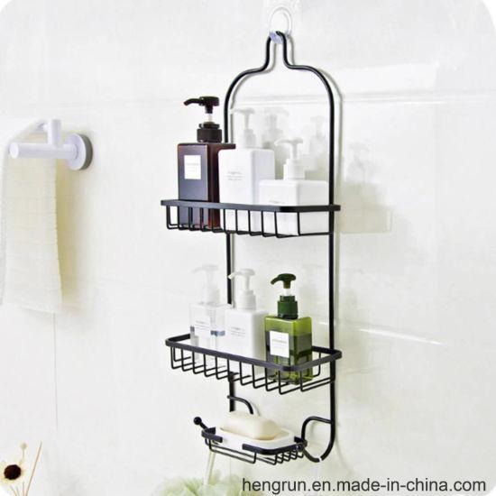 China Aluminum Shower Caddy, Satin Chrome - China Shower Caddy ...