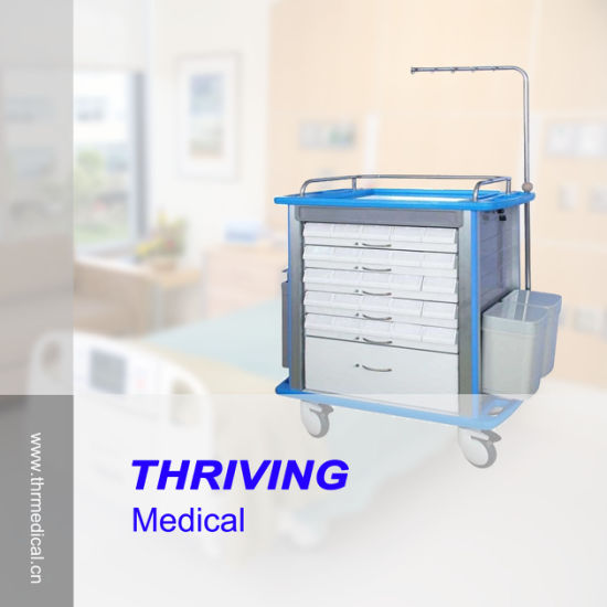 Hospital Medical Medicine Trolley (THR-8850M) pictures & photos