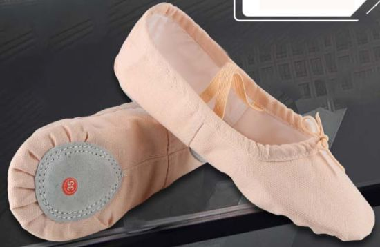Camel Soft Dance Shoes Yoga Shoes Ballet Shoes
