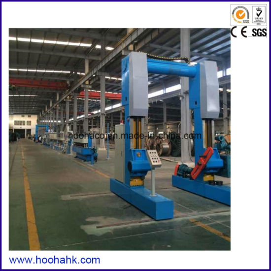 PLC Control High Quality Power Cable Extruder Machine pictures & photos