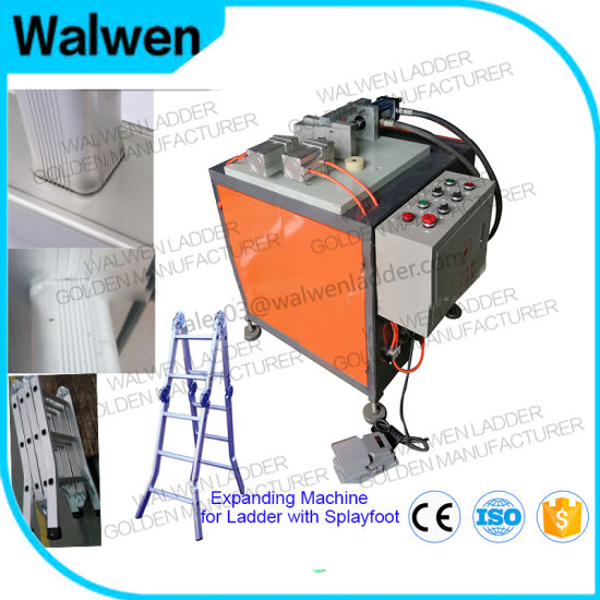 Bevel Edge Hydraulic Expanding Machine for The Household Step Ladder