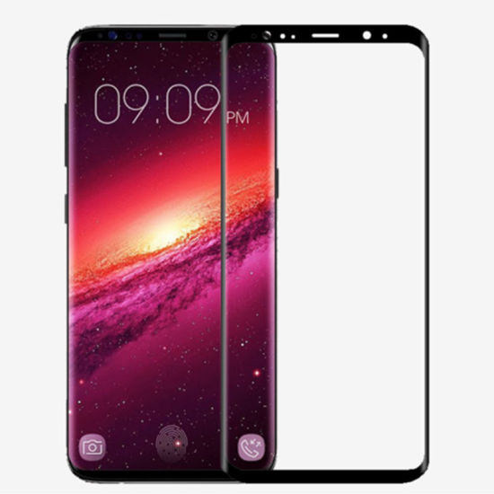 Newest Model 4D Big Size Full Curved 5D Tempered Glass Screen Protector for Samsung Galaxy S9