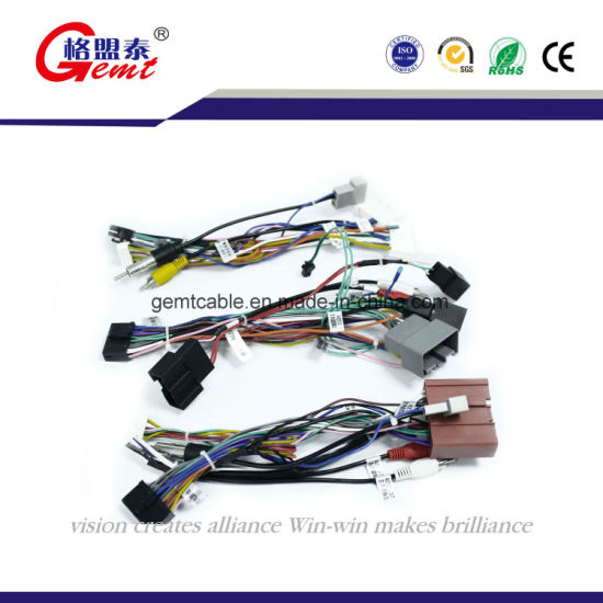 china f505 power cord auto cable wire harness car audio wire harness rh gemtcable en made in china com Painless Wiring Harness Kit Custom Automotive Wiring Harness Kits