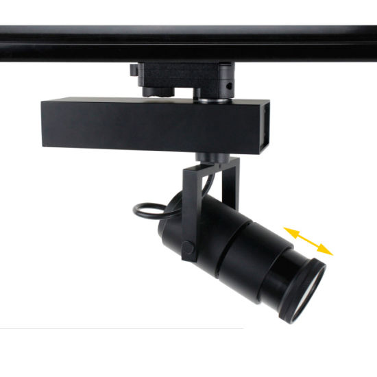 15W/25W Beam Angle Adjustable COB LED Track Light for Museum pictures & photos