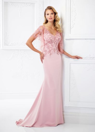China Amelie Rocky See Through Vintage Chiffon Mermaid Evening Dress ...