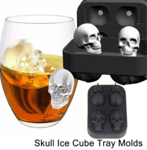 Custom Skull Silicone Ice Cube Mold for Promotion Gifts pictures & photos