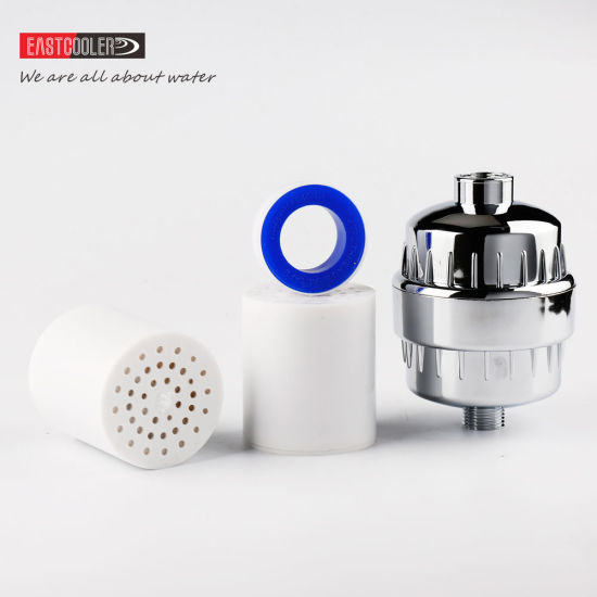 china   12 stage shower water filter remove chlorine with 2 ...