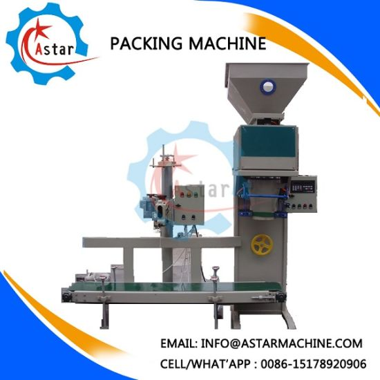 Automatic 25-50kg Per Bag Animal Feed Packing Machine pictures & photos