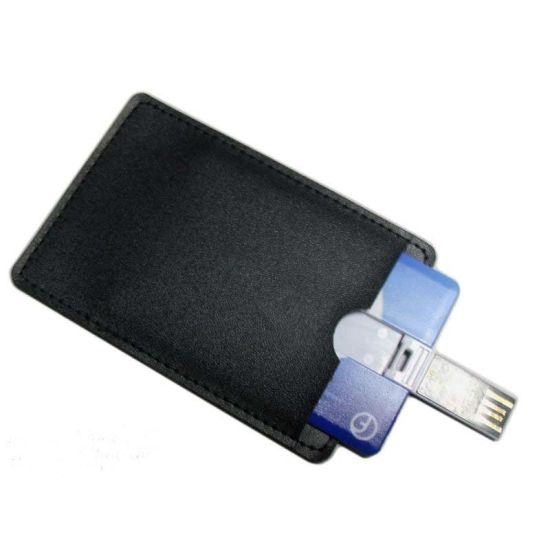 128MB 1GB 2GB Business Card USB Flash Drive White Credit Card USB Promotional Gift pictures & photos