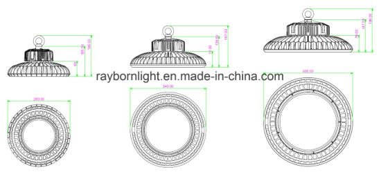 Ce RoHS TUV LED Industrial High Bay Light 100W for Ceiling Mounting pictures & photos