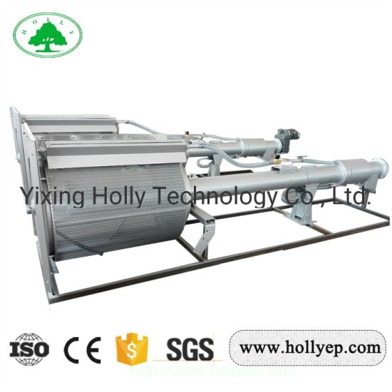 Mechanical Rotary Drum Type Screen in Municipal/Industrial Wastewater Treatment