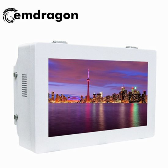 Wall Mount LCD Touch Screen 32 Inch Outdoor Wall Mount Advertising Machine Charing Kiosk Networking TFT Displays Advertising LED Digital Signage