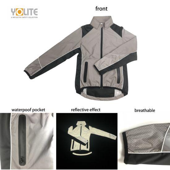 Sport Reflective Jacket for Running Supplier