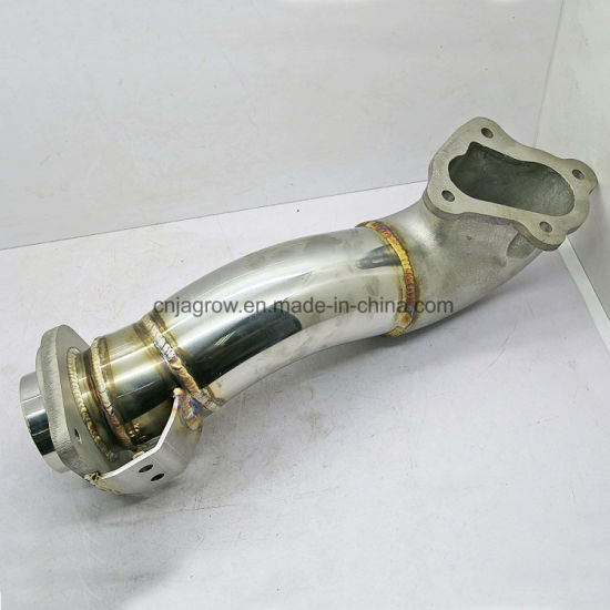 Stainless Steel Exhaust Downpipe for Toyota Hilux Vigo Fortuner 2kd Turbo  Diesel