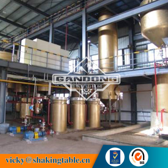 China High Recovery Rock Gold Leaching Production Line