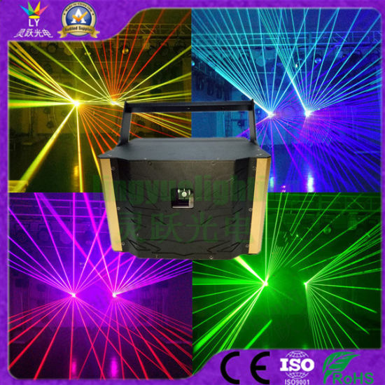 5W RGB Full Color Animation DJ Stage Lighting Laser Light (LY-1005Z)