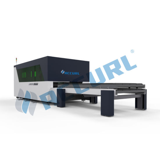 2000W Fiber Laser Cutting Machine for 12mm Metal Sheet and Stainless Steel
