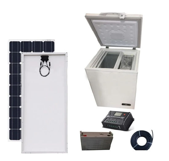 China 12V 24V Solar Refrigerator Fridge Freezer Solar