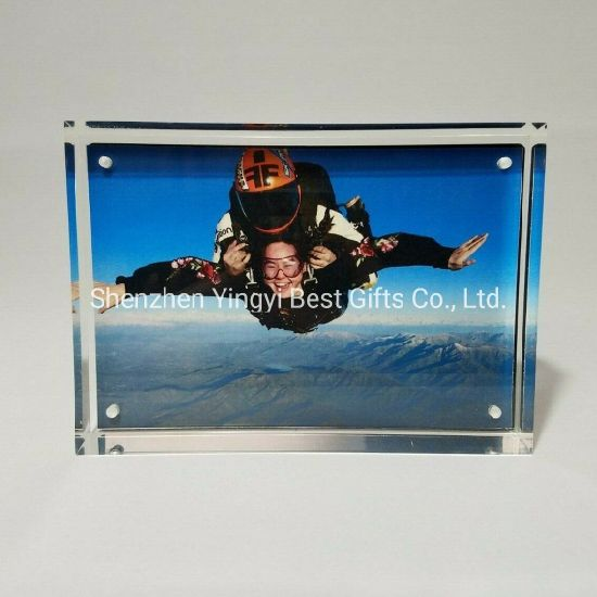 High Quality Double Sides Magnetic Acrylic Photo Frames & Picture Frame