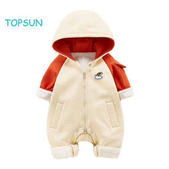 Baby Costume Apparel Wear Pajamas for Boys Girls Winter Flannel Romper Outfit 2t, Colorful One Piece