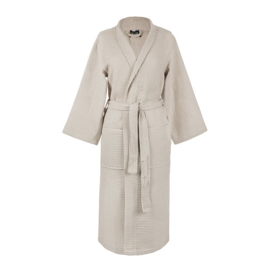 Factory Hotel Use Cotton Comfortable and Soft Reasonable Price Bath Robe Women (JRAC065) pictures & photos