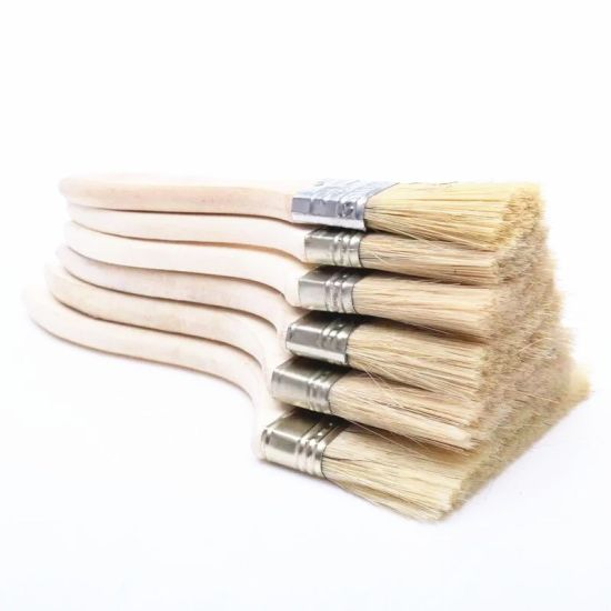 Types of Paint Brushes 4′′ Paint Brush with Wooden Handle pictures & photos