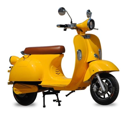 EEC Vintage Vespa Electric Scooters with 72V 20ah Lithium Battery Adult  Electric Motorcycle