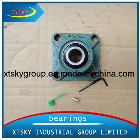 Four-Bolt Square Flange Pillow Block Bearing Ucf204 with Koyo, NTN, NSK, SKF Packing, etc.