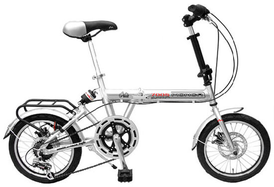 Alloy Frame City Folding E Bike Folded Bicycle Foldable E Scooter Electric Type 16′′ Kenda Tyres pictures & photos