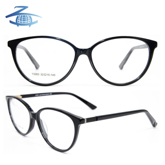 075834fade3e Wholesale Factory Custom New Arrival Acetate Spectacle Cat Eye Optical  Glasses Frame for Women