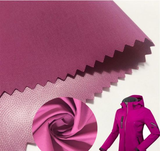 Shell Fabric100% Recycled Nylon Taslon Oxford Fabric with Three Layer Bonding Soft Handfeeling Thin Fabric