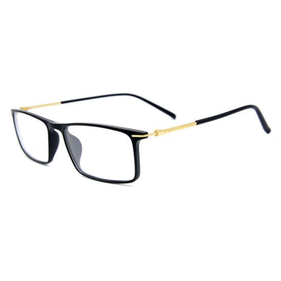 7fb4c2a2a7c Classic Good Elasticity Tr90 Frames Men Metal Square Eye Glasses Frame