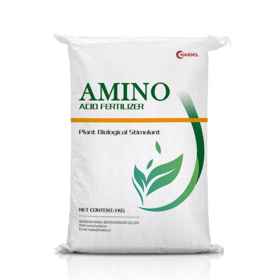 Organic Raw Materials Bio Stimulant Plant Animal Source Amino Acid Powder Fertilizer Water Soluble